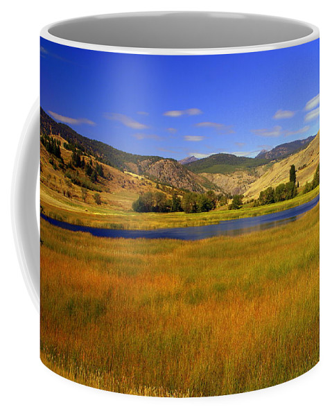 Landscape Coffee Mug featuring the photograph Washington Landscape by Marty Koch
