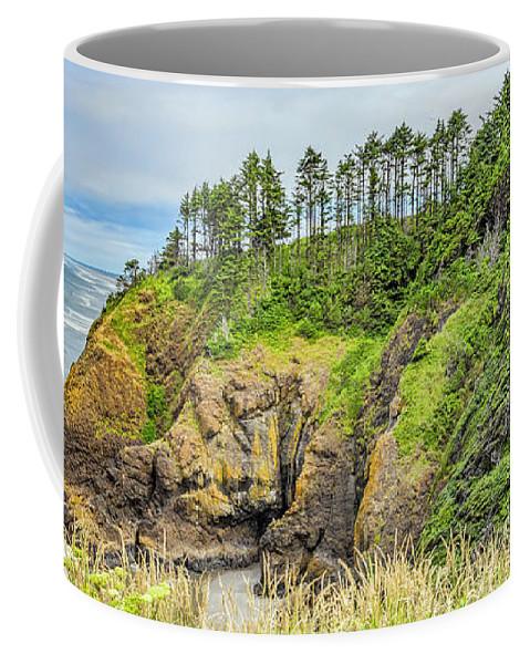 Washington Coffee Mug featuring the photograph Washington State Coastline by Jean OKeeffe Macro Abundance Art