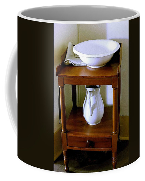 Washstand Coffee Mug featuring the photograph Washstand by Nelson Strong