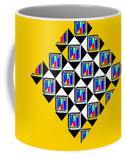 Primary Colors Coffee Mug featuring the painting Wasp Nest by Charles Stuart
