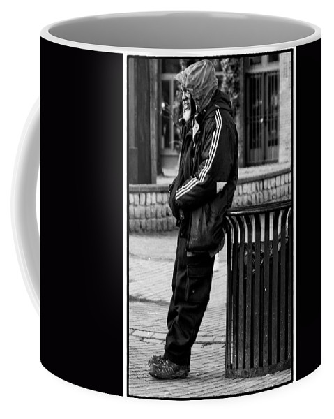 Black And White Coffee Mug featuring the photograph Wasting Away by David Patterson