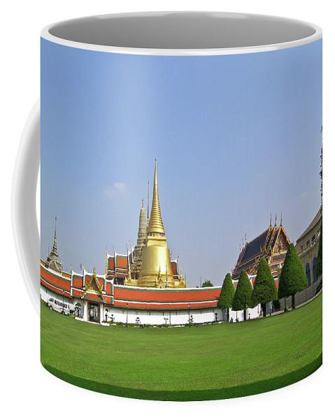 Wat Po Coffee Mug featuring the photograph Wat Po Bangkok Thailand 37 by Douglas Barnett