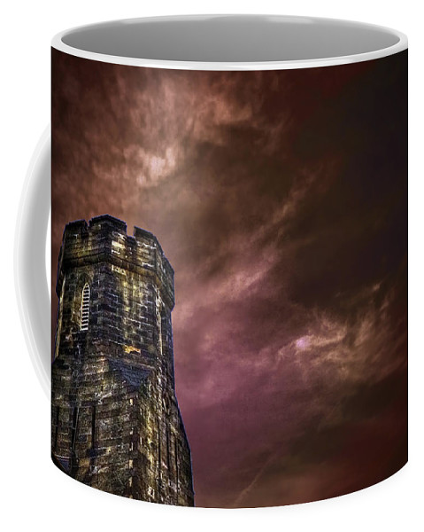 Tower Coffee Mug featuring the photograph Watchtower by Evelina Kremsdorf