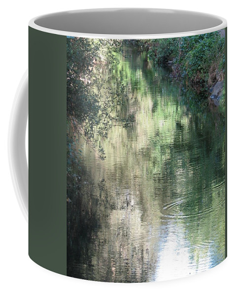 Reflection Coffee Mug featuring the photograph Water Color by Kelly Mezzapelle