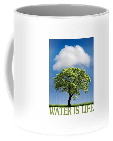 Water Coffee Mug featuring the photograph Water Is Life by Mal Bray