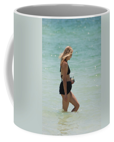 Nautical Coffee Mug featuring the photograph Water Lady by Rob Hans