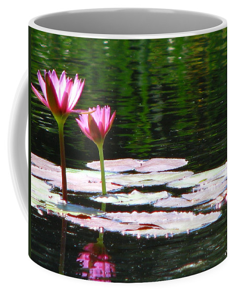 Patzer Coffee Mug featuring the photograph Water Lily by Greg Patzer