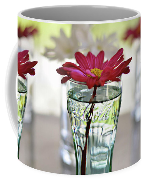 Flower Coffee Mug featuring the photograph Water Lovers by Laura Fasulo