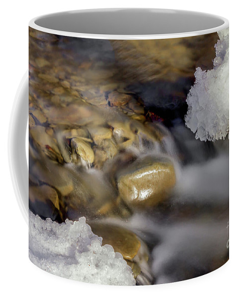 Water Coffee Mug featuring the photograph Water 'n Ice by Rod Best