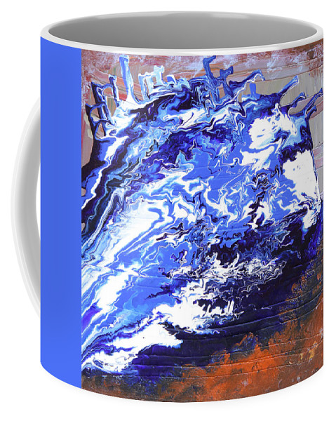 Fusionart Coffee Mug featuring the painting Water by Ralph White