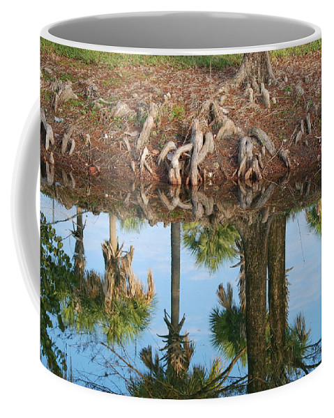 Roots Coffee Mug featuring the photograph Water Reflections by Rob Hans