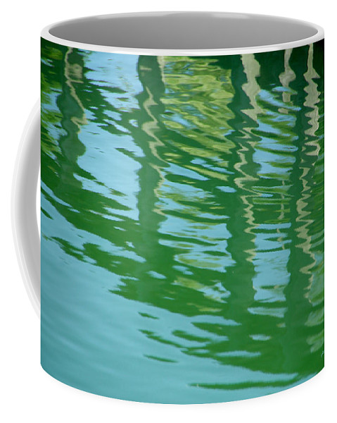 Water Coffee Mug featuring the photograph Water Under The Bridge by Donna Blackhall