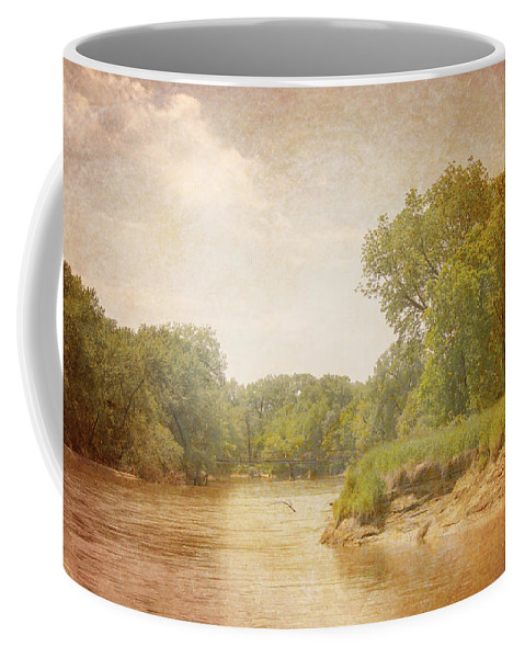 Andscape Coffee Mug featuring the photograph Water Works #1 by Beth Hedley