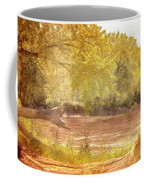 Landscape Coffee Mug featuring the photograph Water Works #3 by Beth Hedley