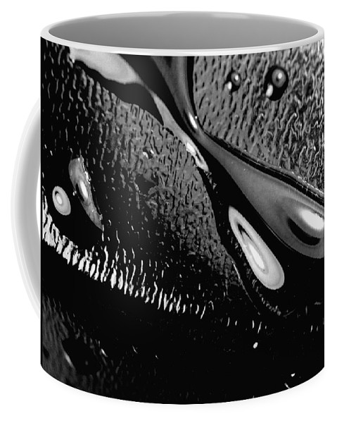 Water Coffee Mug featuring the photograph Waterdrop 6 by Nancy Mueller