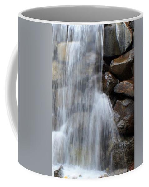 Waterfall Coffee Mug featuring the photograph Waterfall 2 by Carol Groenen