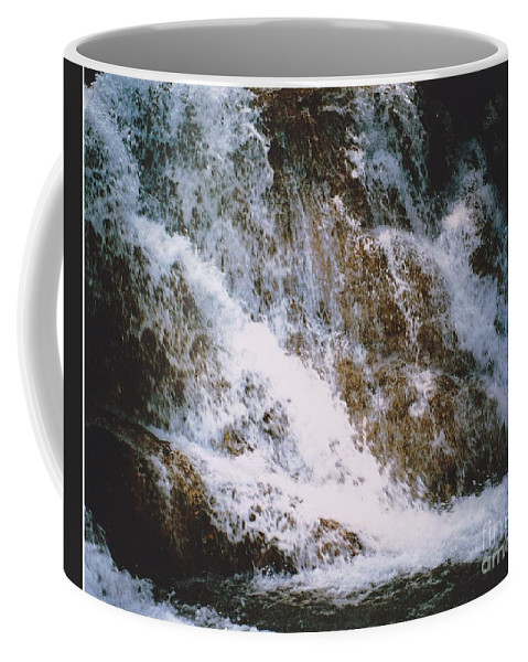 Water Coffee Mug featuring the photograph Waterfall by Michelle Powell