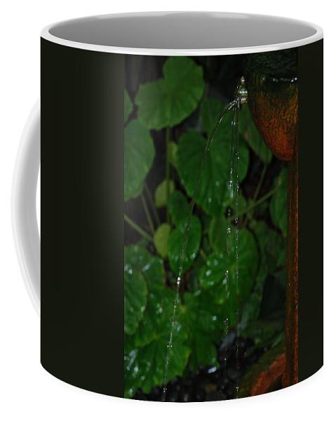 Macro Coffee Mug featuring the photograph Waterfall by Rob Hans