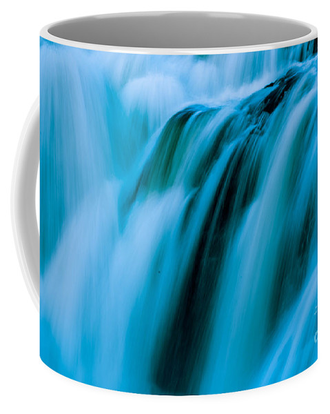 White Water Coffee Mug featuring the photograph Waterfall Series by Sherman Perry