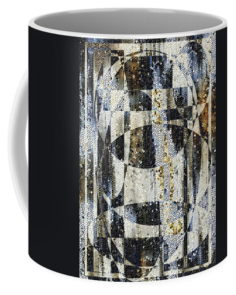 Mosaic Coffee Mug featuring the photograph Waterfalling by Tim Allen