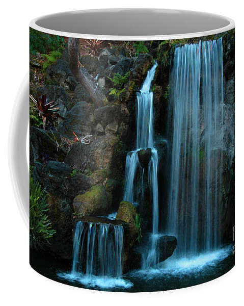 Clay Coffee Mug featuring the photograph Waterfalls by Clayton Bruster