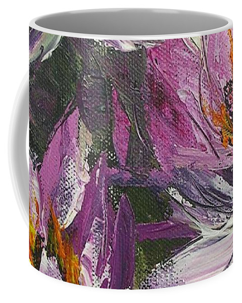 Flower Paintings Coffee Mug featuring the painting Waterlilly by Chris Hobel