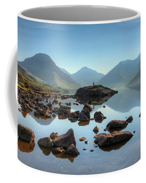 Bay Coffee Mug featuring the photograph Waterscape by Svetlana Sewell