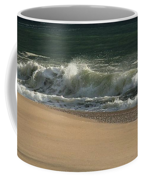 Jersey Shore Coffee Mug featuring the photograph Wave Of Light - Jersey Shore by Angie Tirado