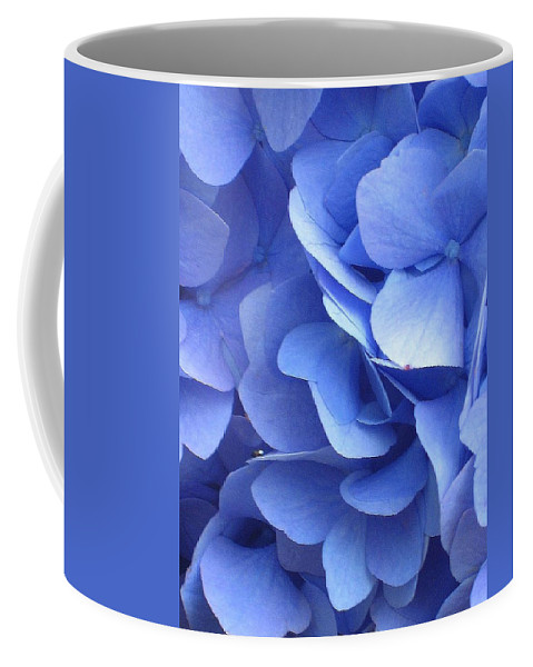 Floral Coffee Mug featuring the photograph Waves Of Blue by Marla McFall
