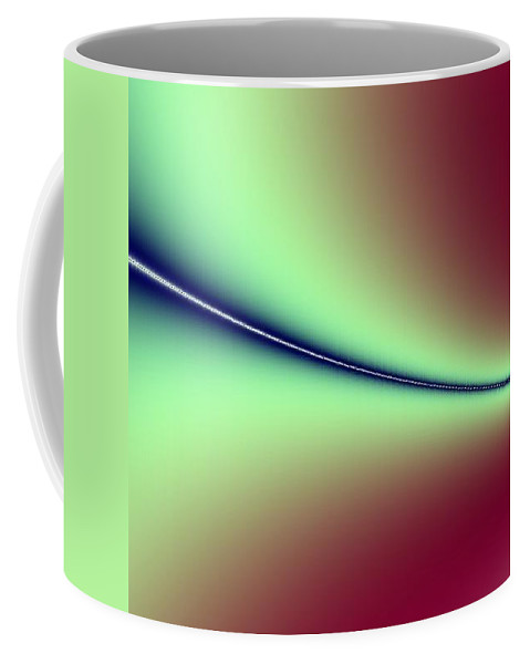 Digital Art Coffee Mug featuring the digital art Way Out I by Dragica Micki Fortuna
