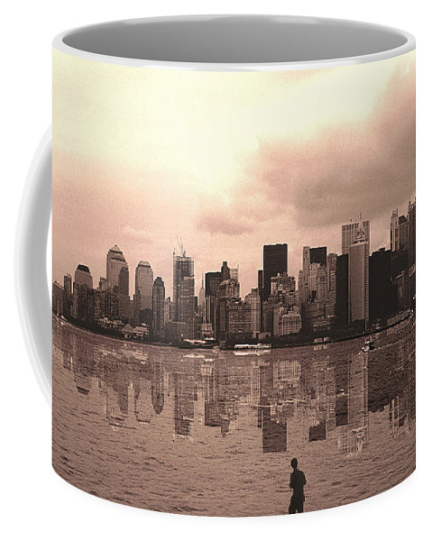 Photo Coffee Mug featuring the photograph We Are Watched by Enrique Crusellas