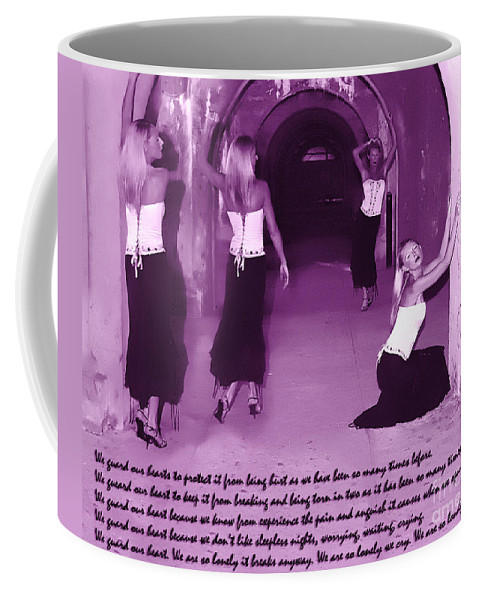 All Rights Reserved Coffee Mug featuring the photograph We Guard Our Heart by Clayton Bruster