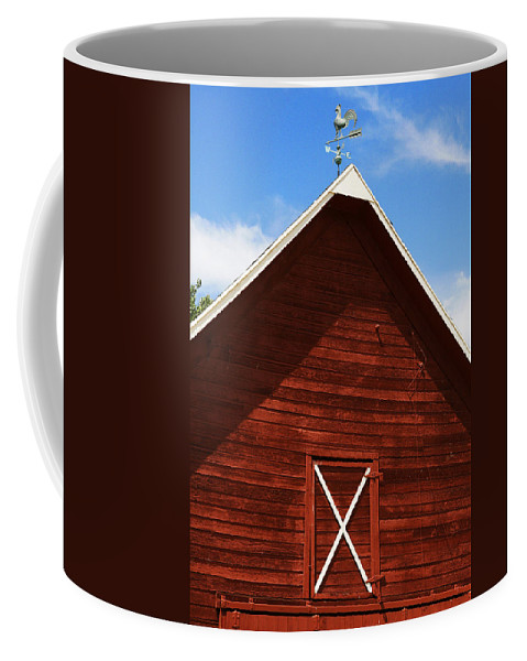 Weather Coffee Mug featuring the photograph Weather Vane by Marilyn Hunt