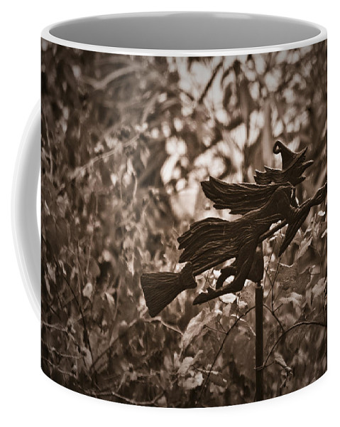 Weather Coffee Mug featuring the photograph Weather Vane by Teresa Mucha