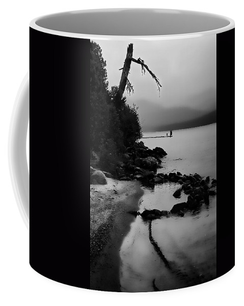 Boathouse Coffee Mug featuring the photograph Weathered by David Patterson