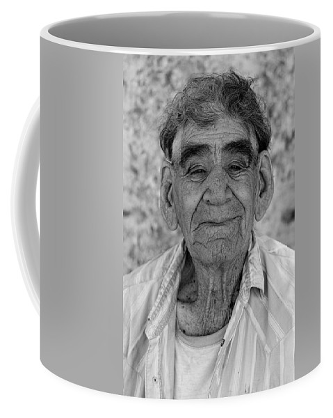 Old Man Coffee Mug featuring the photograph Weathered by Mark Harrington