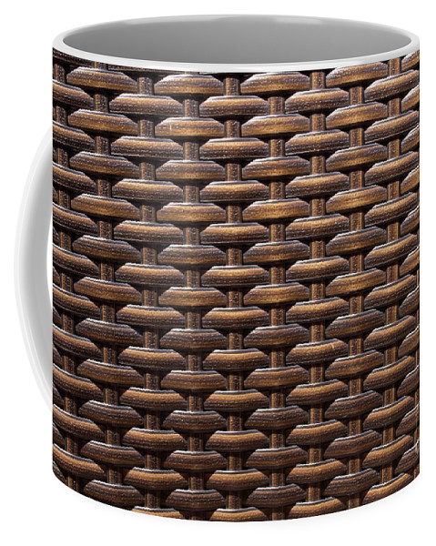 Coffee Mug featuring the photograph Weave by Mark Stephens