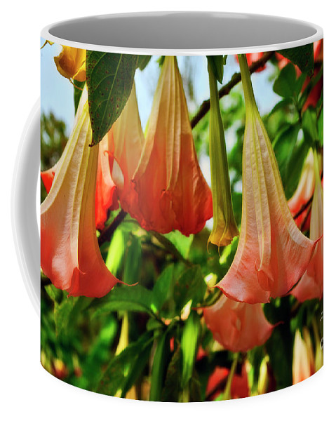 Flowers Coffee Mug featuring the photograph Wedding Bells by Madeline Ellis