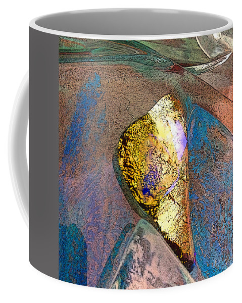 Glass Scape Coffee Mug featuring the photograph Wedged by Mykel Davis