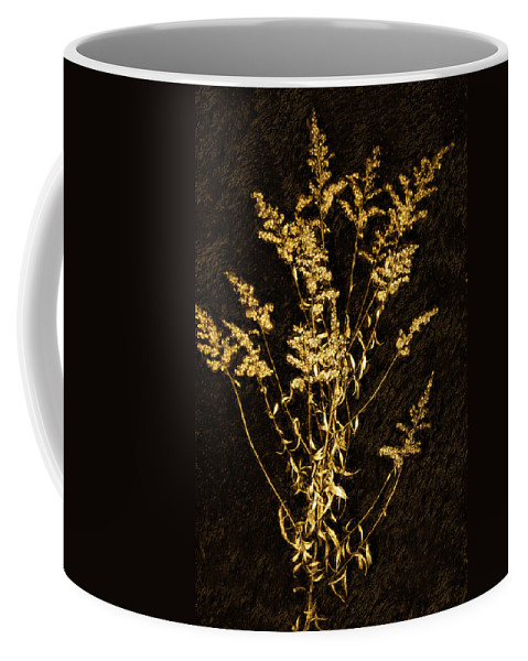Weed Coffee Mug featuring the photograph Weed Portrait by Steve Harrington