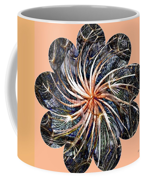 Weed Coffee Mug featuring the digital art Weed Whirl by Will Borden