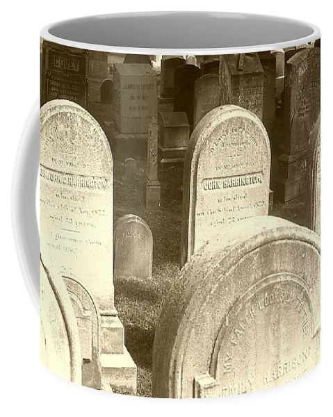 Cemetery Coffee Mug featuring the photograph Welcome by Debbi Granruth