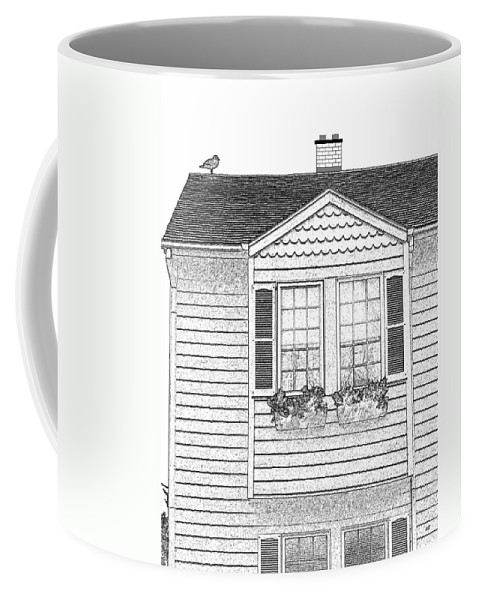 Welcome Home Coffee Mug featuring the digital art Welcome Home 7 by Will Borden