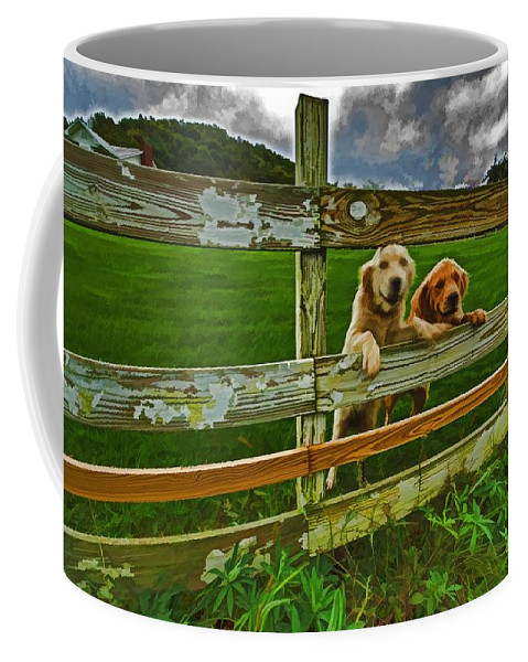 Landscape Coffee Mug featuring the photograph Welcome Home by Dennis Baswell