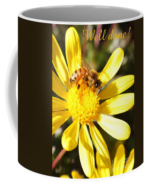 Card Coffee Mug featuring the photograph Well Done Card by Carol Groenen