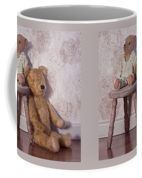 Teddy Coffee Mug featuring the photograph Well Loved by Linda Lees