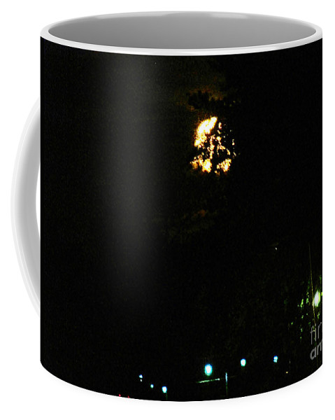 Moon Coffee Mug featuring the photograph Werewolf Moon by Don Baker