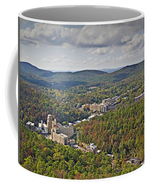 West View Coffee Mug featuring the photograph West View by Walter Herrit