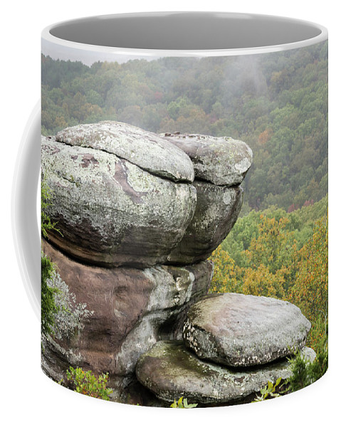 Garden Of The Gods Coffee Mug featuring the photograph Wet Sandstone by Andrea Silies