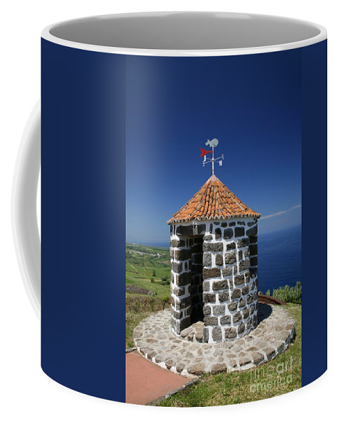 Azores Islands Coffee Mug featuring the photograph Whale Lookout Spot by Gaspar Avila